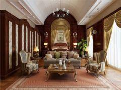 成都尚层装饰别墅装修洛可可风格案例效果图美式风格别墅