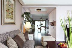 现代美式二居室