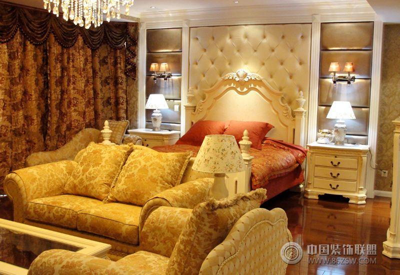 欧式豪华别墅高档装修图-卧室装修图片