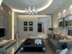 现代温馨现代风格三居室