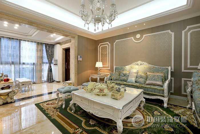 装修效果图 欧式装修效果图 欧式奢华  类型:家装 风格:欧式风格 面积