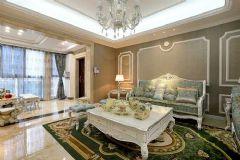 欧式奢华欧式风格三居室