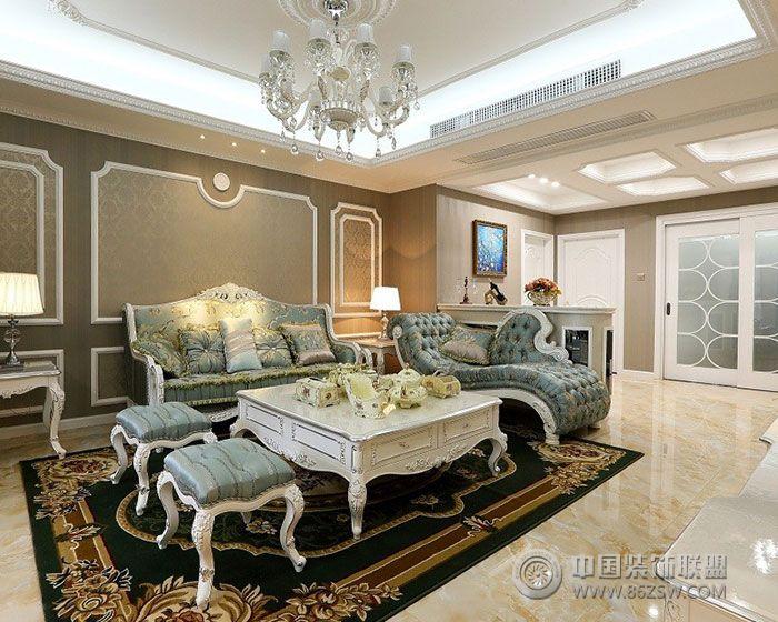 欧式奢华欧式客厅装修图片