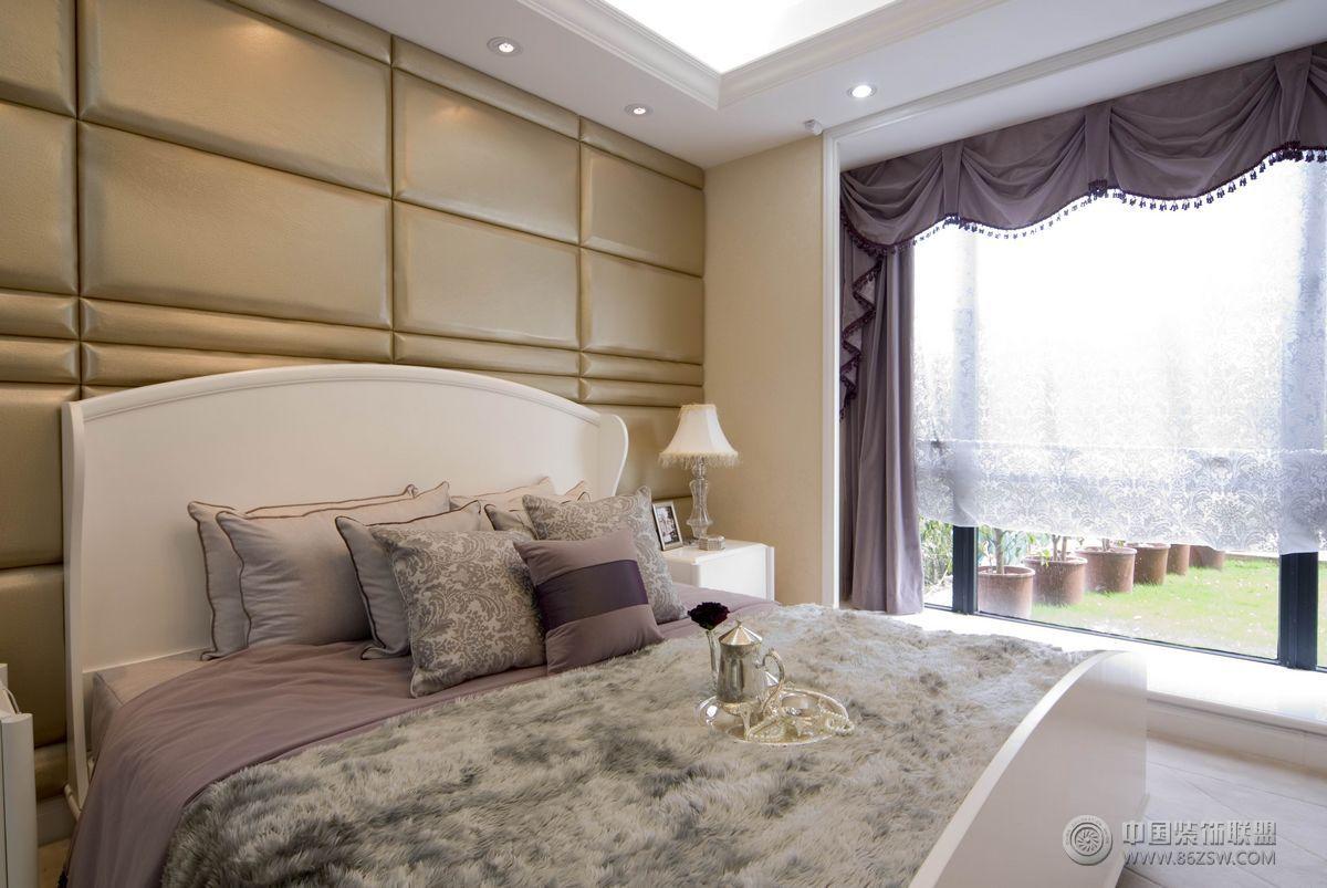 欧式二居室豪华装修图整套大图展示_欧式二居室大户型