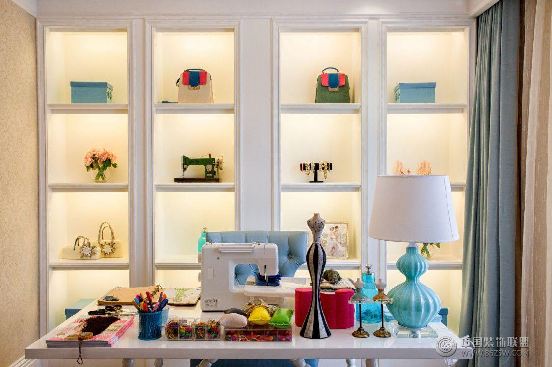 时尚法式二居室 客厅装修效果图 -时尚法式二居室 客厅装修图片