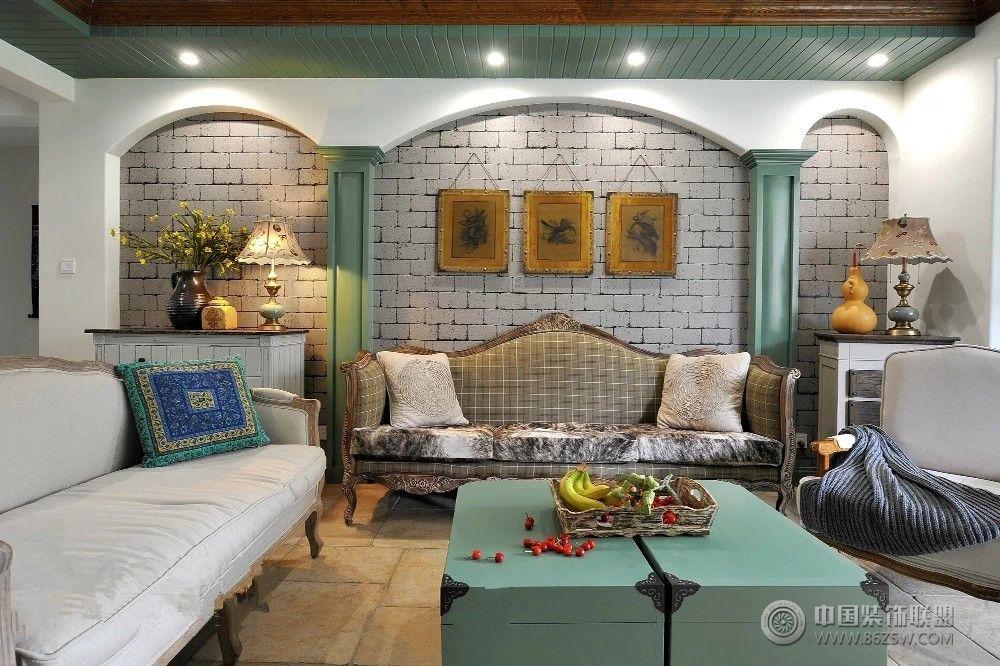 欧式复古欧式客厅装修图片
