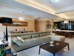 现代简约风格三居室装修图