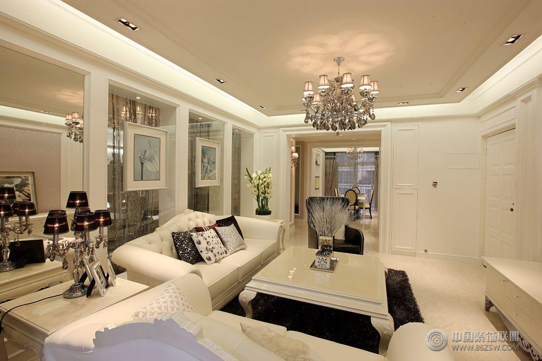 现代欧式风格三居室装修效果图 儿童房装修图片