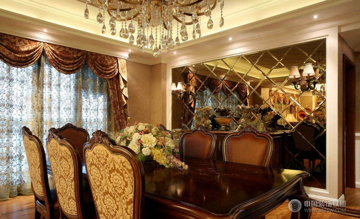 奢华复古欧式客厅装修图片图片