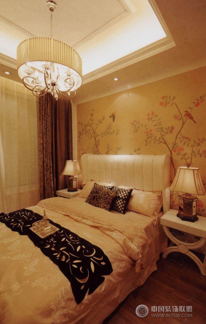 欧式两室两厅装修效果图