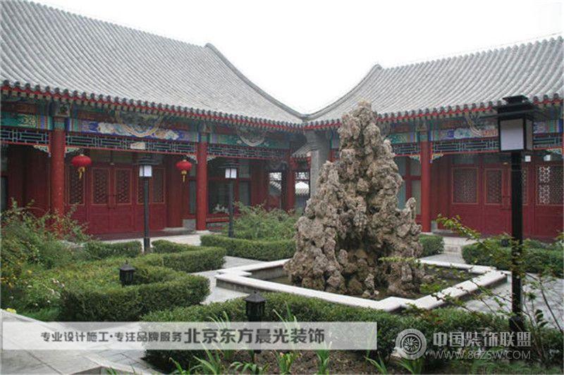 东北延吉四合院设计 客厅装修效果图 八六 中国 装饰联盟