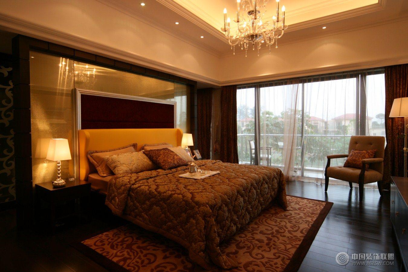 现代风格二居室装修图客厅装修图片