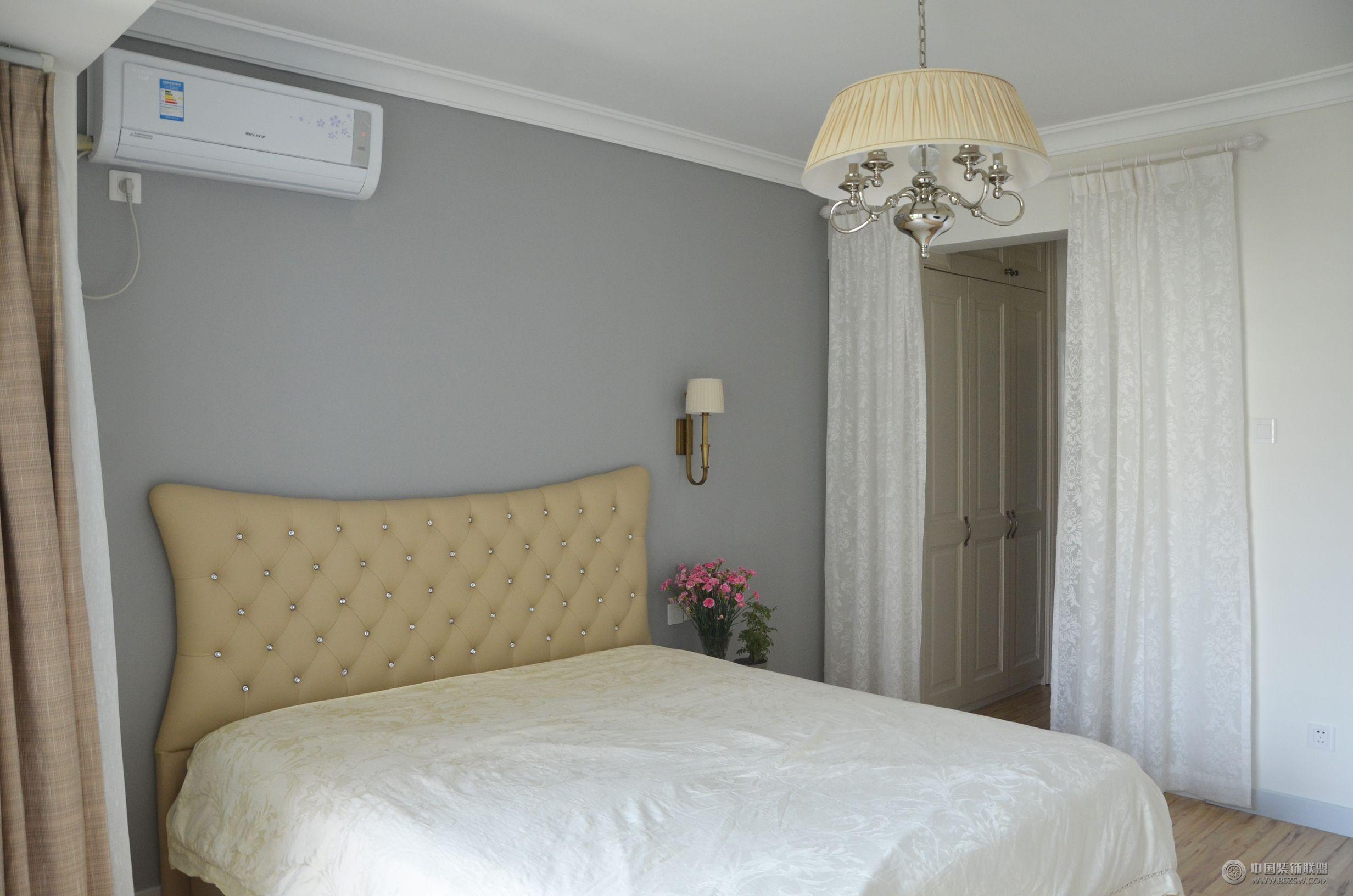 现代简约风格两室一厅装修图 客厅装修效果图 八六网