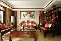 中式装修风格两室两厅