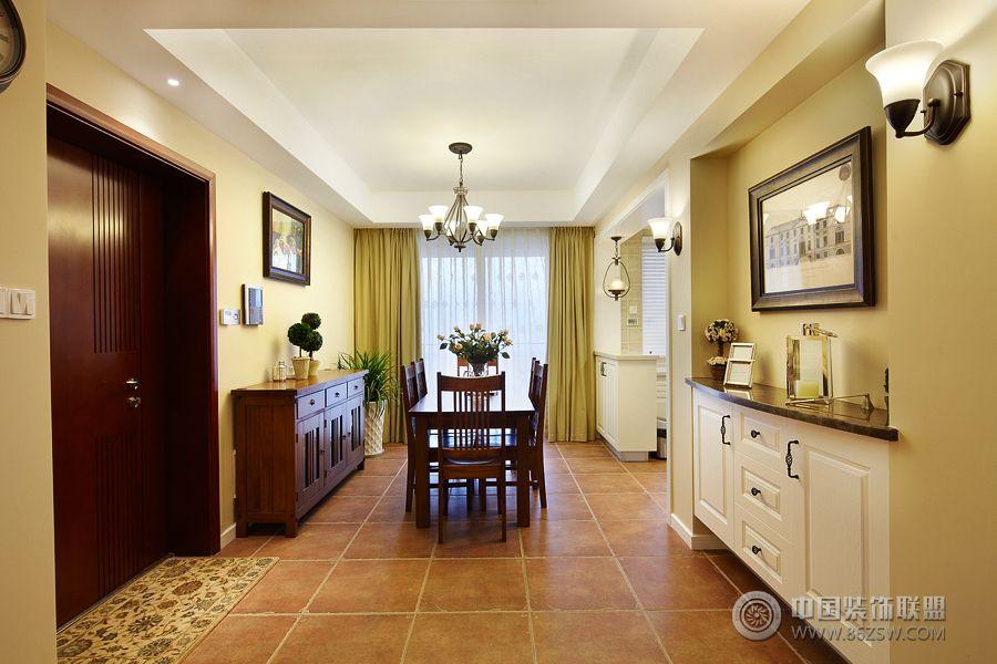 简约美式三房装修图 过道装修图片 -简约美式三房装修图 过道装修效果高清图片