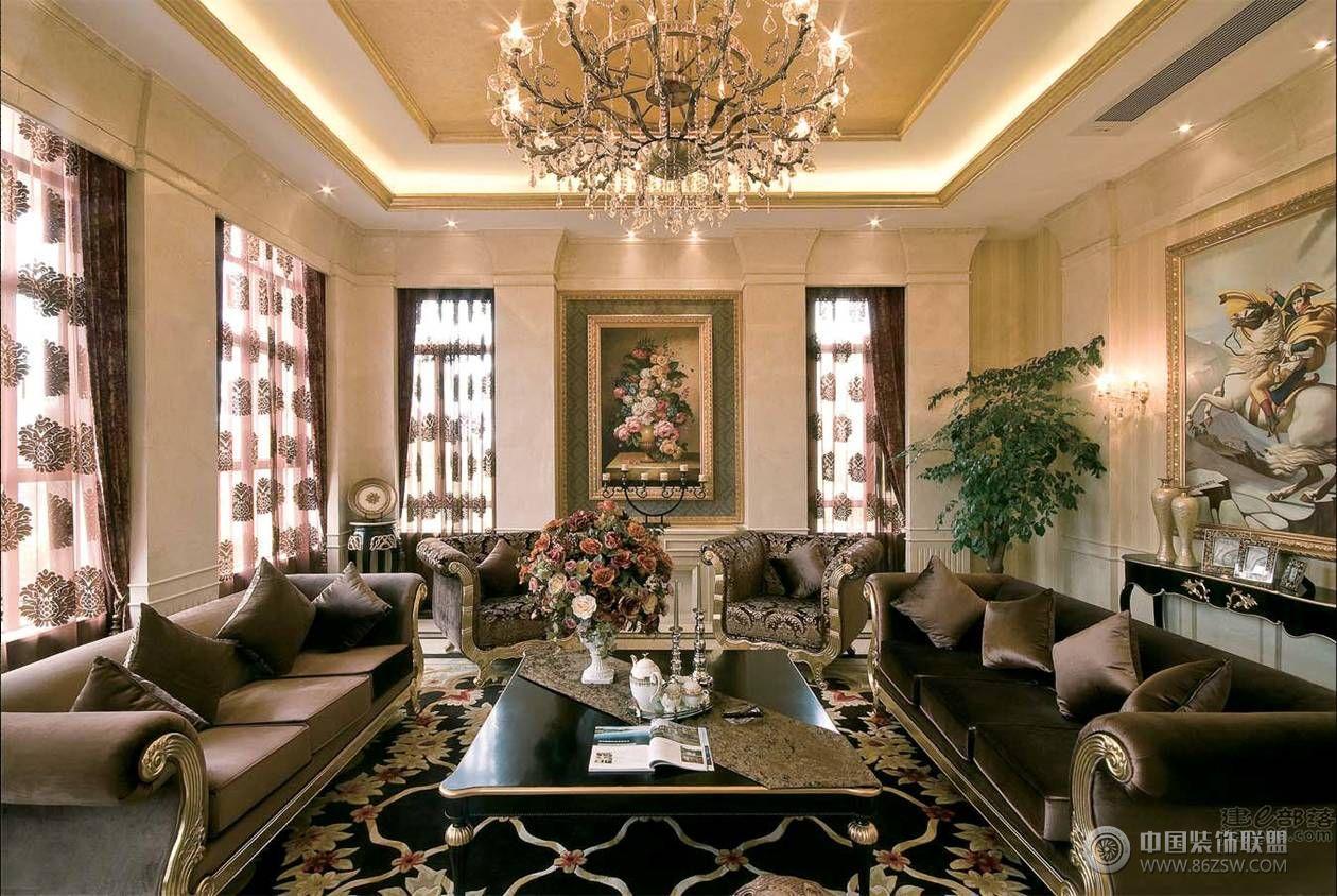案例:武汉尚层装饰碧桂园生态城新古典主义风格 类型:家装风格:古典