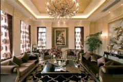 武汉尚层装饰碧桂园生态城新古典主义风格古典风格别墅