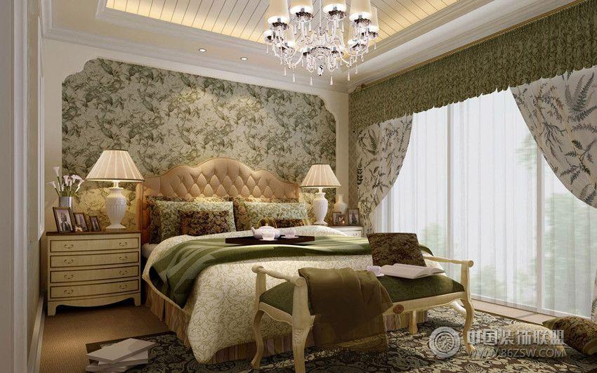 清新欧式别墅-儿童房装修效果图-八六装饰网装修效果