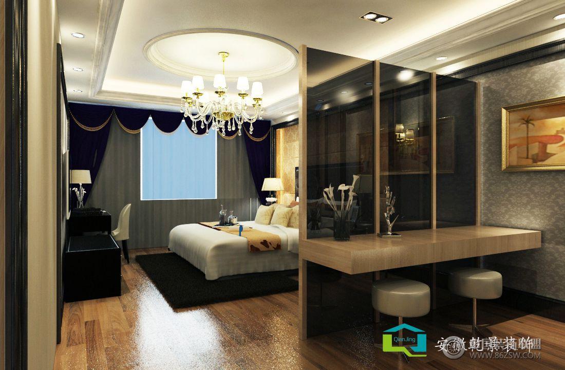翡翠庄园欧式卧室装修图片