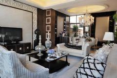 现代风格二居室装修图