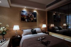 现代风格三室两厅装修效果图