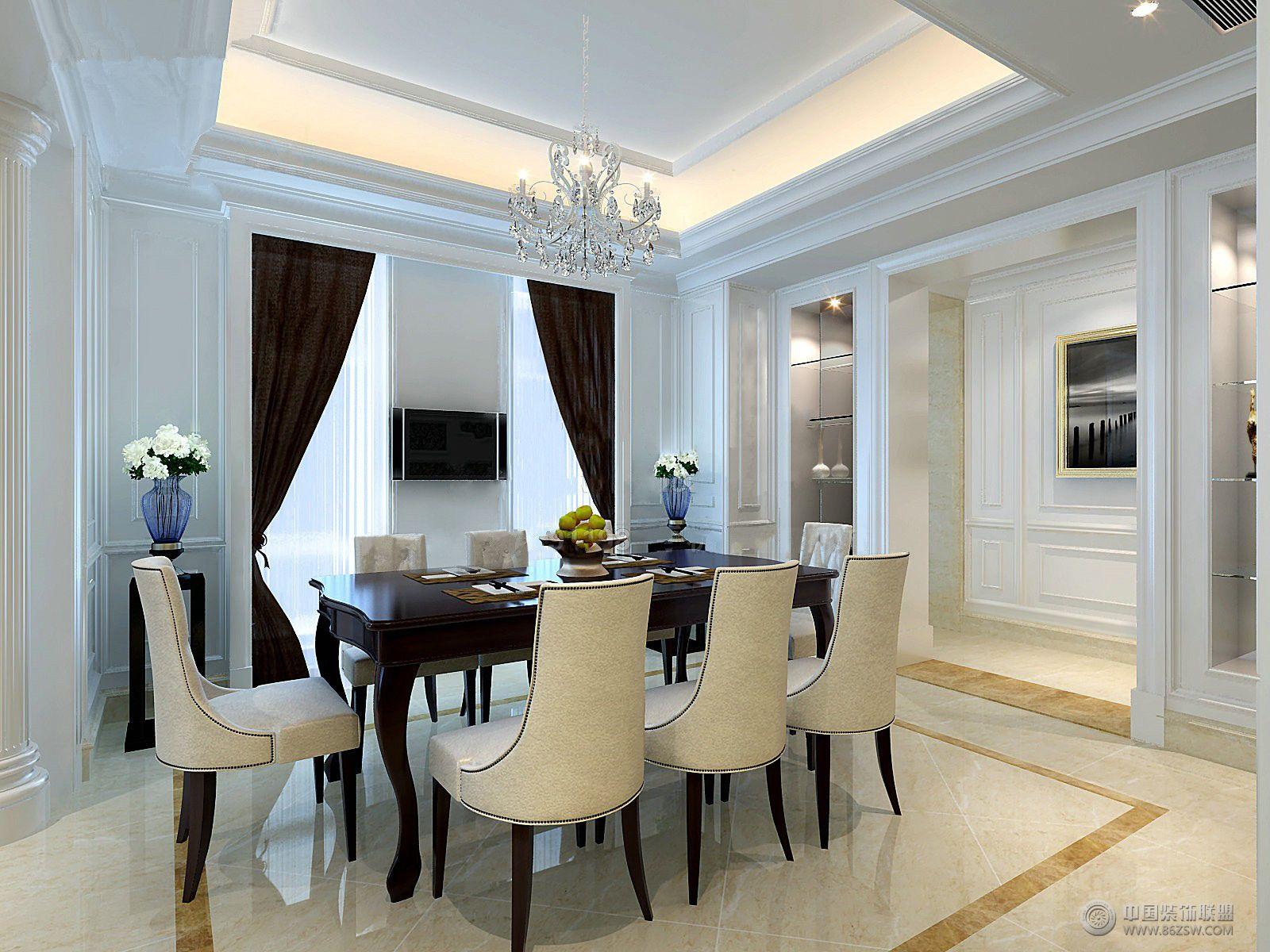 優雅歐式風格歐式客廳裝修圖片