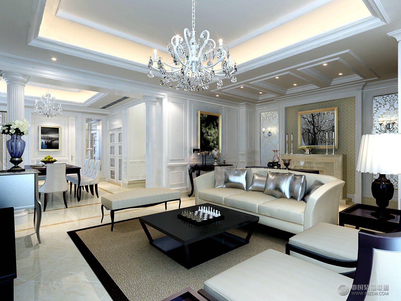 优雅欧式风格欧式客厅装修图片图片