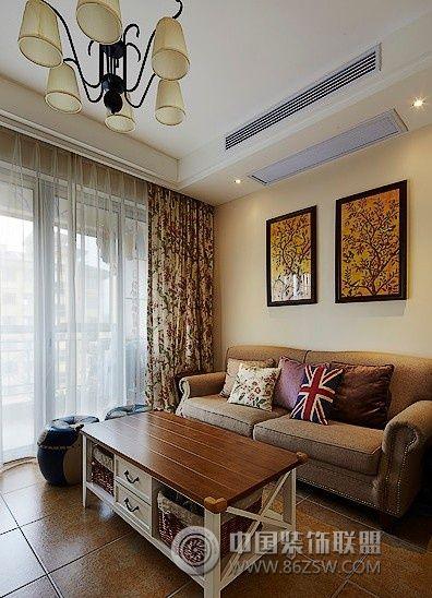 田园风格小户型装修设计图 卧室装修图片