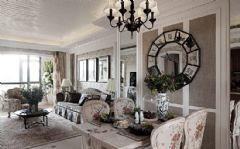 法式风格二居室家装图