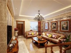 西式古典风格效果图(六)古典风格别墅