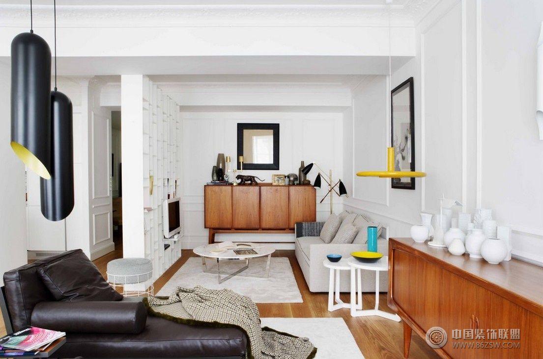 50平米单身公寓-客厅装修效果图-八六(中国)装饰联盟