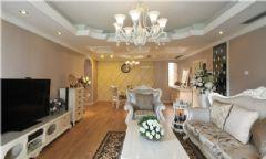 欧式120平米两室两厅装修图