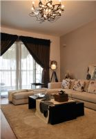 时尚简约风格两室两厅装修图