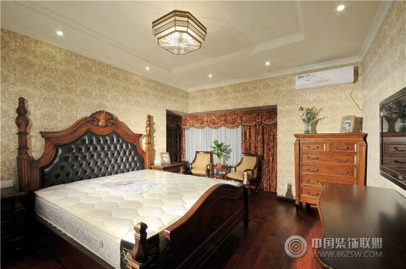 美式风格两室两厅装修图-卫生间装修效果图-八六装饰