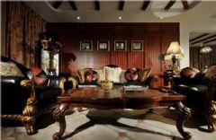 美式风格两室两厅装修图
