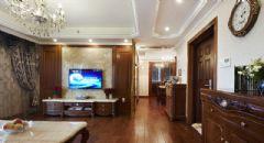 欧式古典风格三室两厅装修图