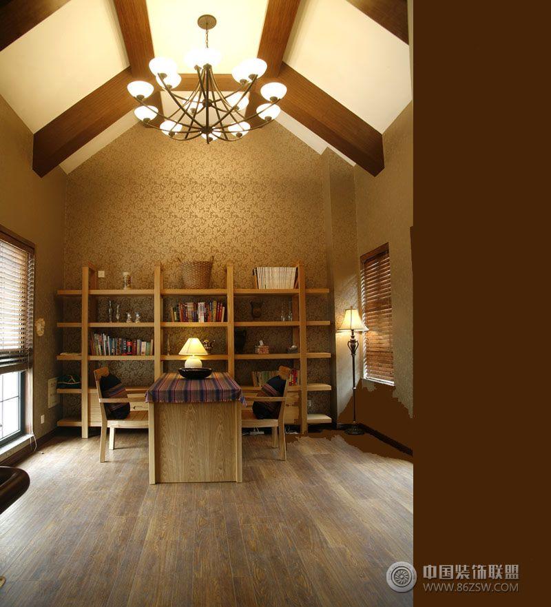 小复式装修图-厨房装修效果图-八六装饰网装修效果