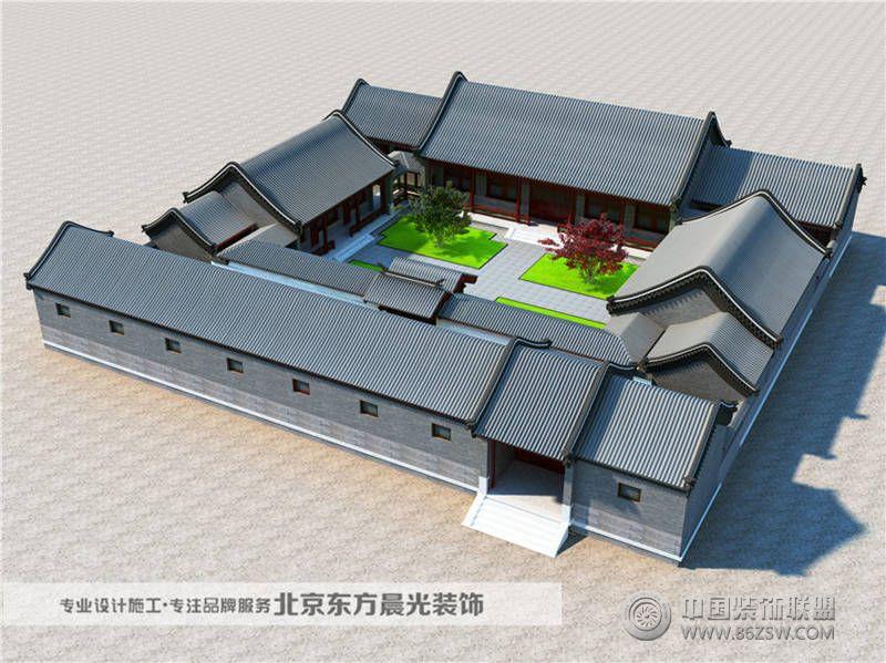 老北京四合院 设计 厨房装修效果图 八六装饰网