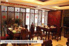 天津塘沽中式酒店装修