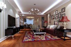 美式三居室美式风格三居室