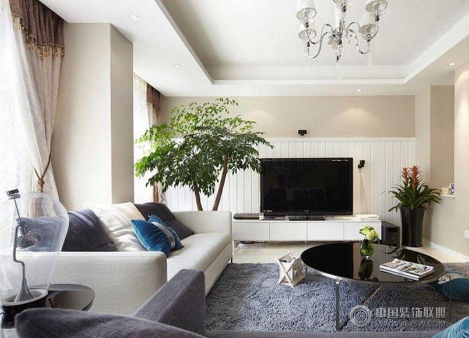 现代简约风格两室两厅装修图 书房装修效果图
