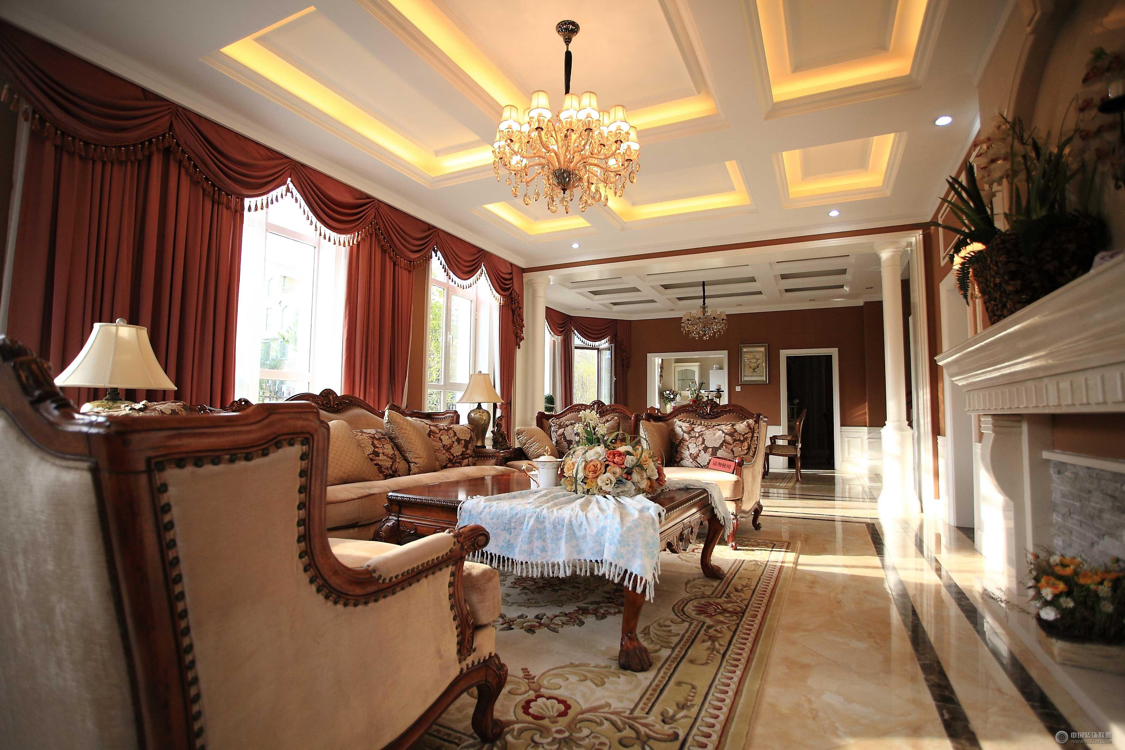 欧式风格别墅图片