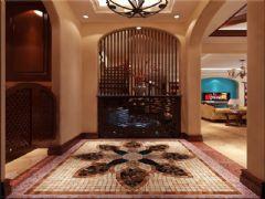 成都尚層裝飾別墅裝修西式古典風格案例效果圖古典風格玄關裝修圖片