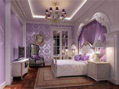 成都尚层装饰别墅装修西式古典风格案例效果图(九)古典风格别墅