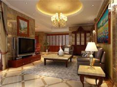 成都尚层装饰别墅装修西式古典风格案例效果图(十)古典风格别墅