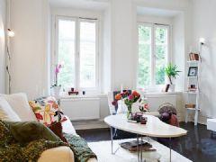 静雅现代简约风格现代简约风格二居室