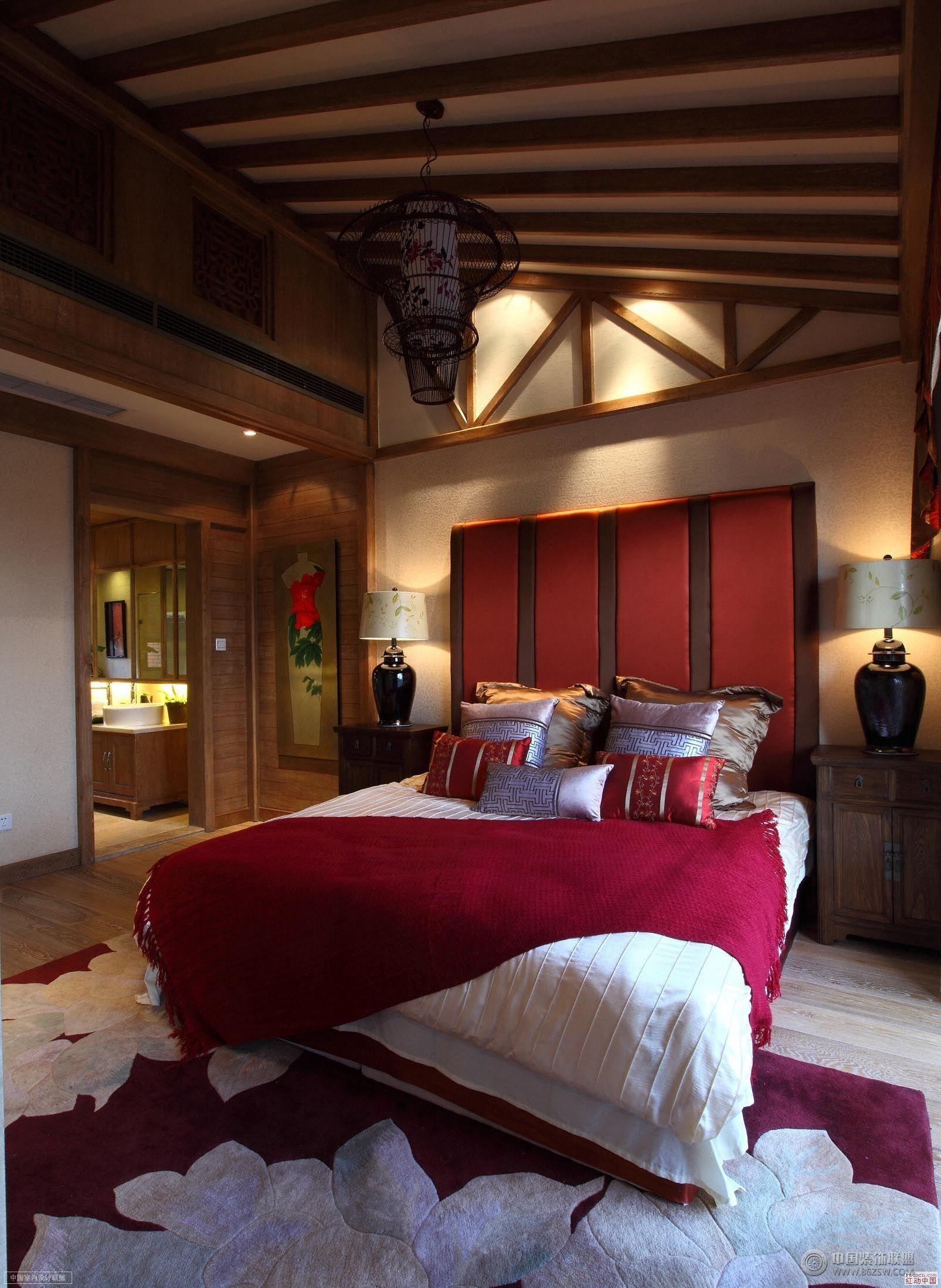中式古典别墅中式客厅装修图片