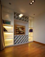 現代風格兩室兩廳現代風格玄關裝修圖片