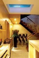 現代簡約風格復式樓現代簡約風格玄關裝修圖片
