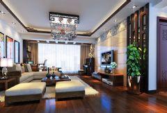 柳州东城印象简约中式简约风格大户型
